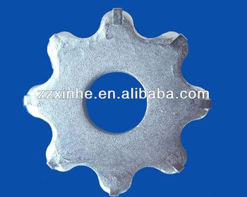 Tungsten carbide tipped flail cutter