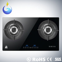 Smart inspection kitchen embedded gas stove with safety devices