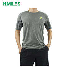 Athletic sport Apparel Short Sleeve promotion dry fit running t-shirt/men running t shirt