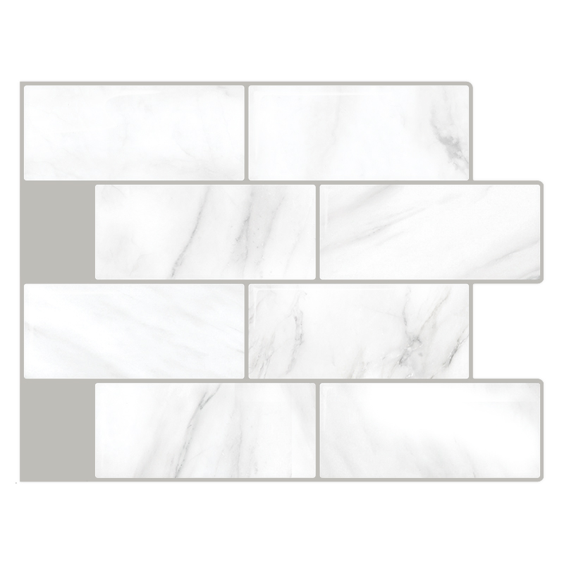Self adhesive PVC 3D Backsplash <strong>tiles</strong> for Kitchen