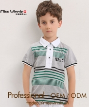 children uniform polo shirt, cotton children polo shirt, kids striped polo tshirt