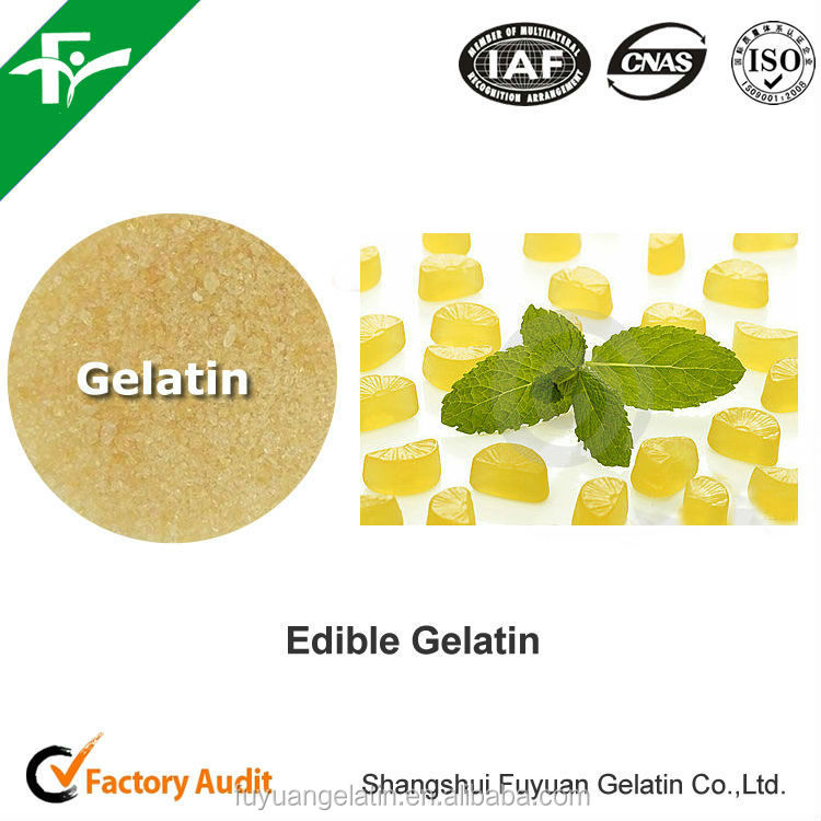 Edible Gelatin for Wine Gums