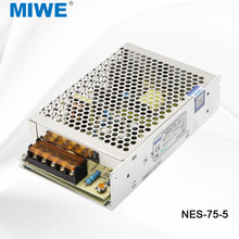 Single output regulated 5v 15a 75w ac dc switched mode power supplies