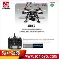 Multicopter XK X380 FPV with Gimbal GPS 2.4G RC helicopter Quadcopter RTF F15174 Wltoys Professional Drones