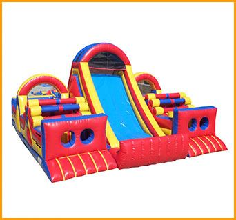 Adrenaline Rush For Sale inflatable obstacle courses