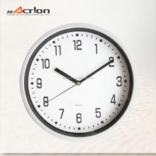 9 Inch Plastic 3D Round Aanalog Classic Style Wall Clock Quartz Promotional Wall Clock