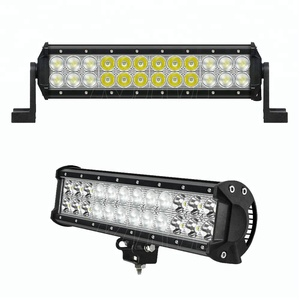 auto parts combo beam 72 w led 12 inch car accessories led light bar