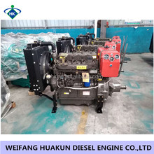 Small Chip Wood Machine used ZH4102P Diesel Engine with clutch