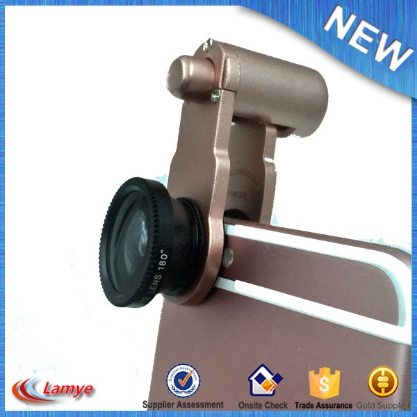 Factory Price CE RoHs Universal 3 in 1 Mobile Camera lens Phone lens for all Smart phone