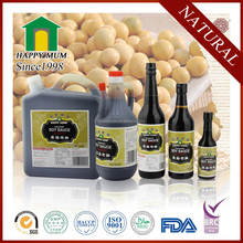 Asian Seasoning Bulk Mushroom Soy Sauce with BRC Certificate
