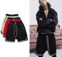 X84085A New fashion man mesh shorts cheap wholesale men casual sport shorts