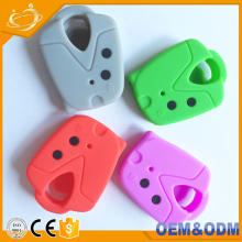Environment-friendly 2 Buttons Silicone Car Key Cover Case Shell For Proton Wira