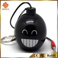 SP-039 rechargeable popular design ce fc rohs portable speakers with 3.5mm plug shenzhen
