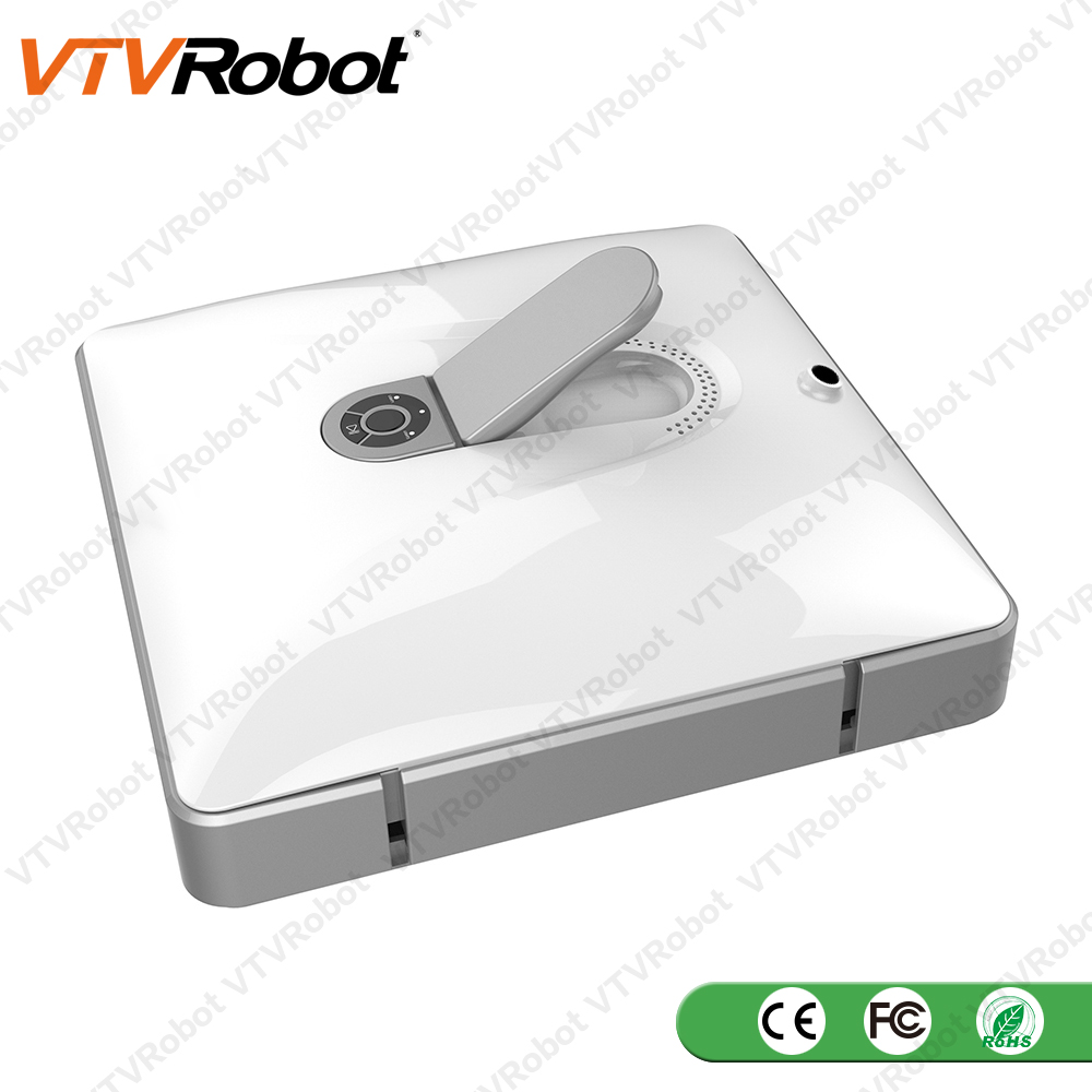 v5 Easy-To-Use Automatic Microfiber Pads Robotic Mirror Glass Window Cleaner