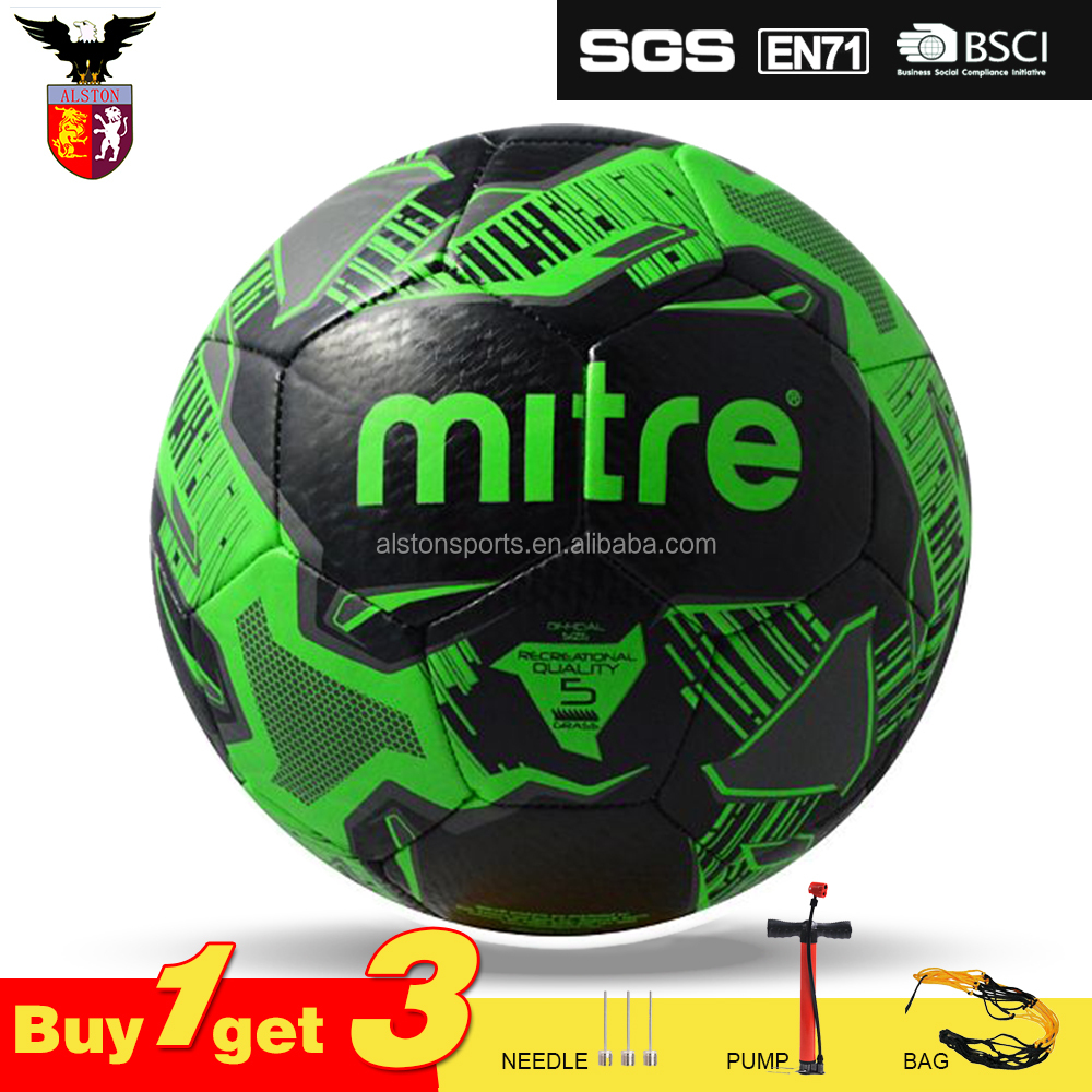 Colorful Mixed Spot Machine Sewn Ball Soccer For Players