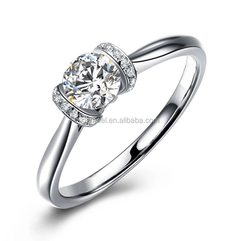 Gemnel jewelry fashion single stone ring designs latest gold ring designs for girls wedding ring