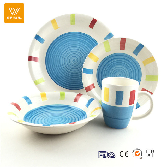 2017 colorful dinnerware sets_Yuanwenjun.com
