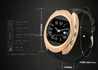 2015 hot sale china watch mobile phone bluetooth watch men
