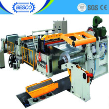 ultra precision semi-auto silicon steel sheet slitting line CE ISO certified