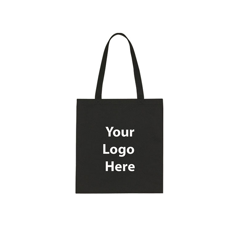 Custom reusable cotton Canvas shopping bags with logo printed