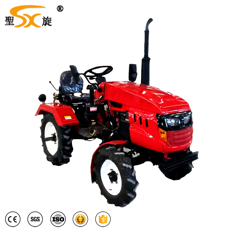18hp Chinese brand agricultural mini tractor for sale with best price