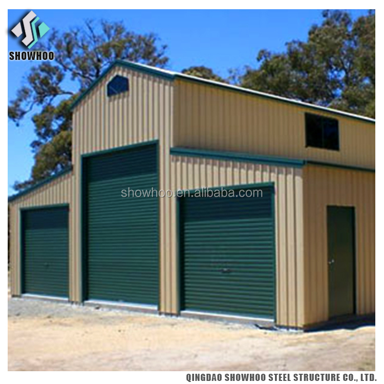Low Cost Metal Prefab Barns Steel Buildings Light Steel Frame House For Sale