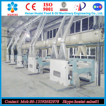 Turn key rice bran oil press machine