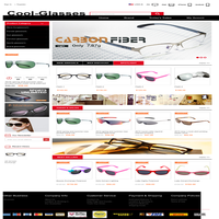 create online shopping cart development ecommerce website design b2b2c ordering popular self-dropship muti-language eyeglass
