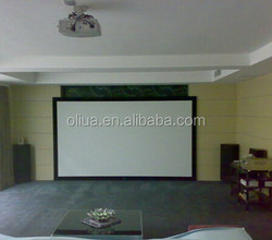 velvet aluminum fixed frame projector screen