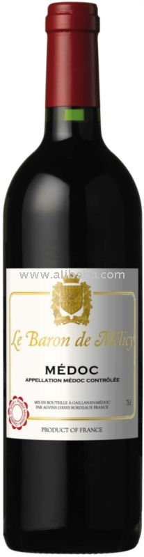 Le Baron de Melicy AOP Medoc dry French Red Wine
