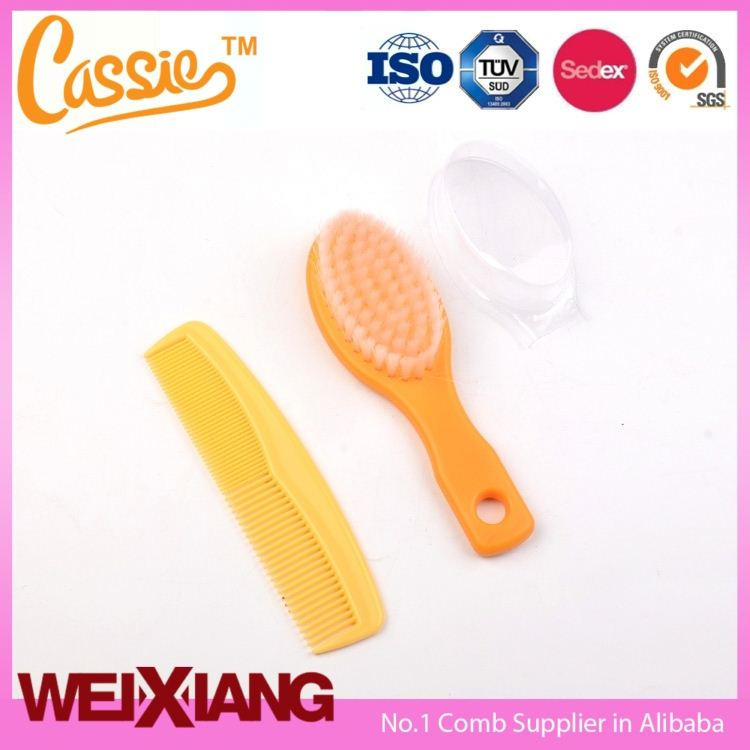 plastic detangle hairbrush Round Thermal Curling creative hair brushes