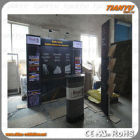 china aluminum advertising solar display stand