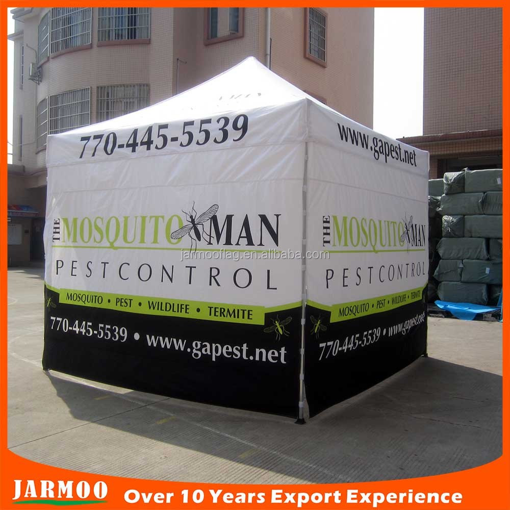 Premium 3x3 aluminum advertising folding tent