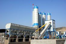 High quality Concrete cement mixing plant for construction industry,production capacity is 120 cube meter/h