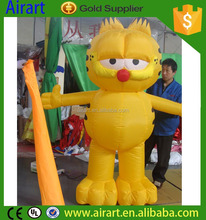 2016 New hot inflatable garfield model,advertising inflatable garfield,inflatable garfield