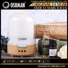 advertising promotion stream humidifier led aromatherapy humidifier wood and glass