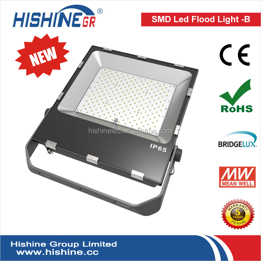 Outdoor Gas station, gym tennis court widely used IP65 waterproof 200w led flood light with CE ROHS