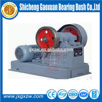 Easy operating Lab Jaw Crusher, mobile Stone Crusher