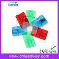 Transparent multi color usb card usb flash
