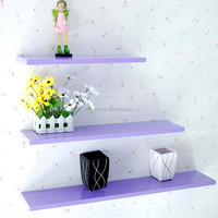 Home Decor.Wood Displayed Shelving Project Floating Wall Shelf Kits