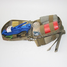 Military Camping and Outdoor rescue Emergency Survival Individual First Aid Kit IFAK