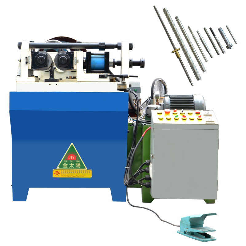 Hongbo HB-20 Automatic two-shaft rebar Thread Rolling Machine In China