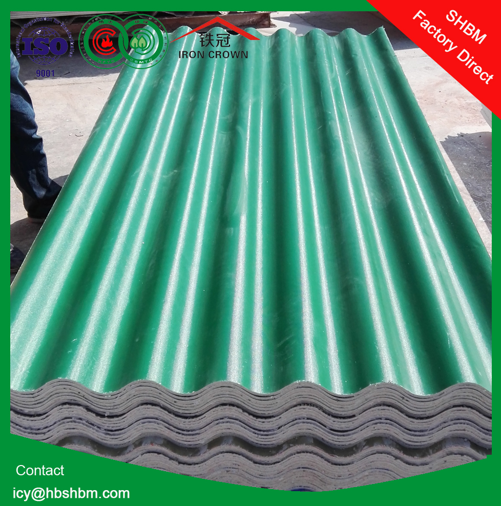 high strength Non asbests fireproof heat resistant long span magnesium oxide MGO roofing sheet sizes SH01