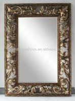 large decorative floor standing mirror