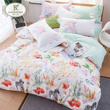 Wholesale 4pcs Luxury 3D Printing Natural Fabric Bedding Sets