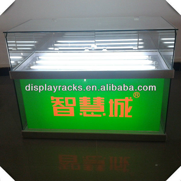 hot sell retail and store electronic product glass showcase