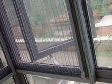 fiberglass insect screen/window screening/invisable window screen