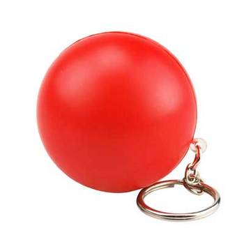 cheap keychains PU Stress reliever ball Slow rising squishy