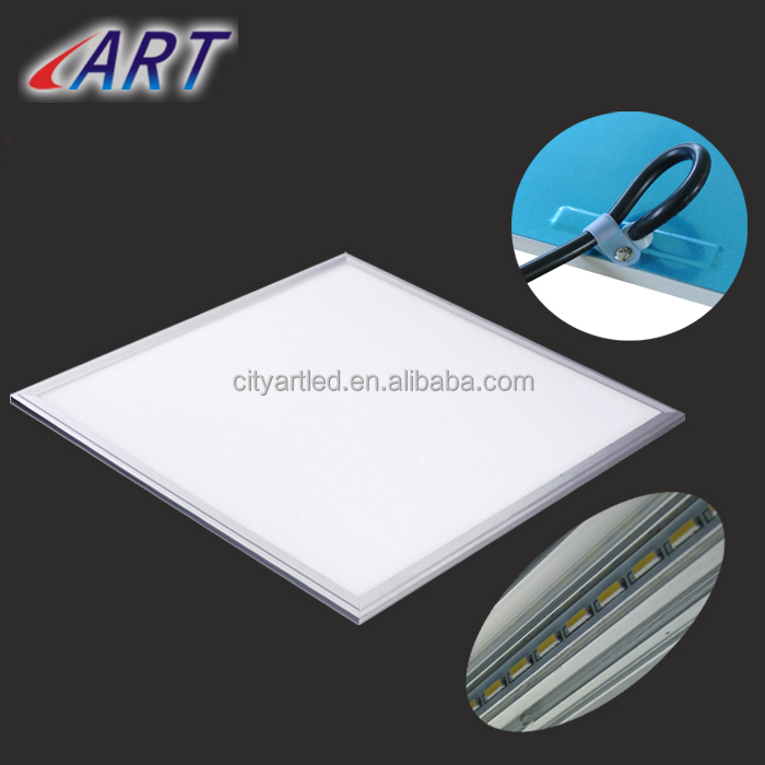 CE RoHS UL BIS approve led flat panel wall light with motion sensor & good diffuser 60*60 36W panel lighting