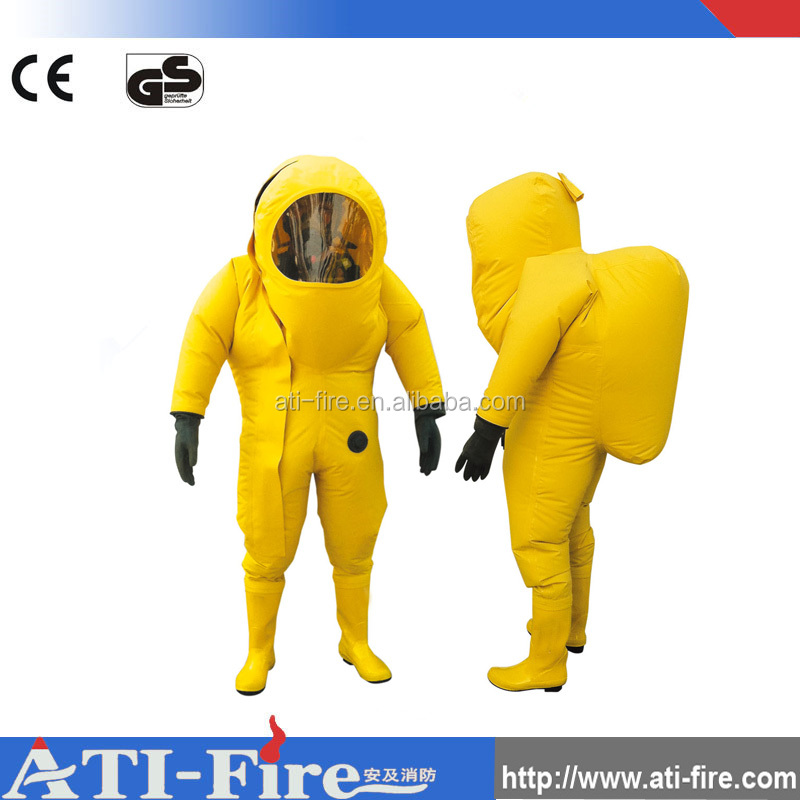 Flame retardant electrical shock proof Chemical protective suit
